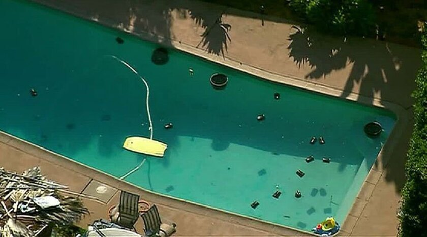 A boy has died after being pulled from this La Mesa pool, officials said. His sister also died in the incident.