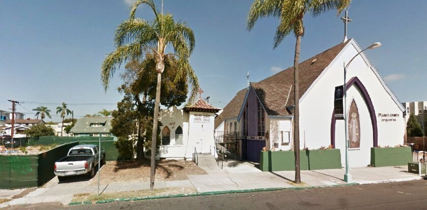 St. Luke's chapel is available for relocation, $10,000 offered as part of the deal.