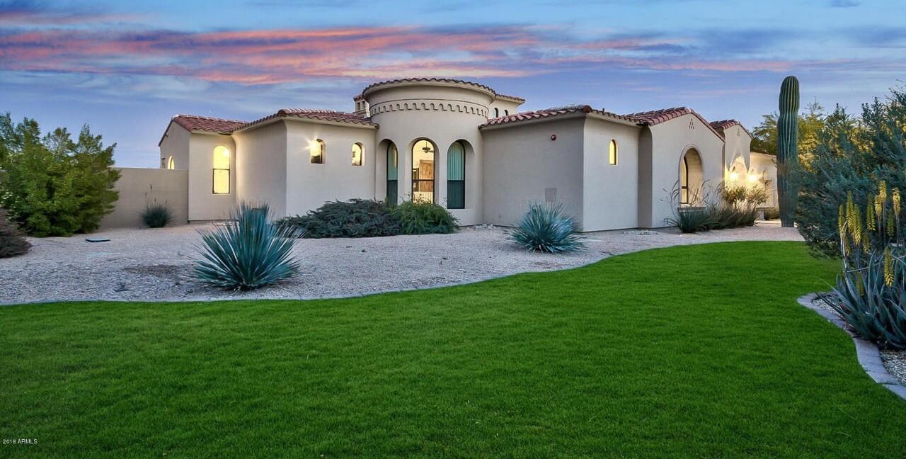 Carson Palmer's Scottsdale home