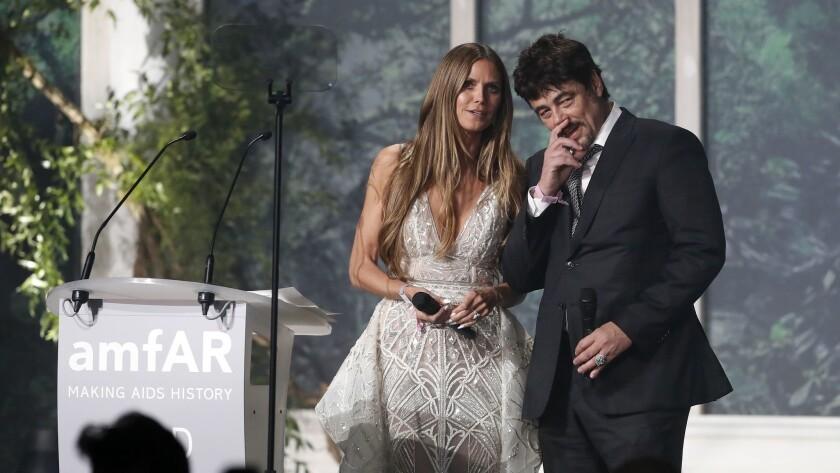 amfAR Gala - 71st Cannes Film Festival, Cap D'antibes, France - 17 May 2018