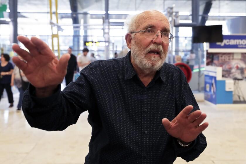 Swiss scientist Michel Mayor