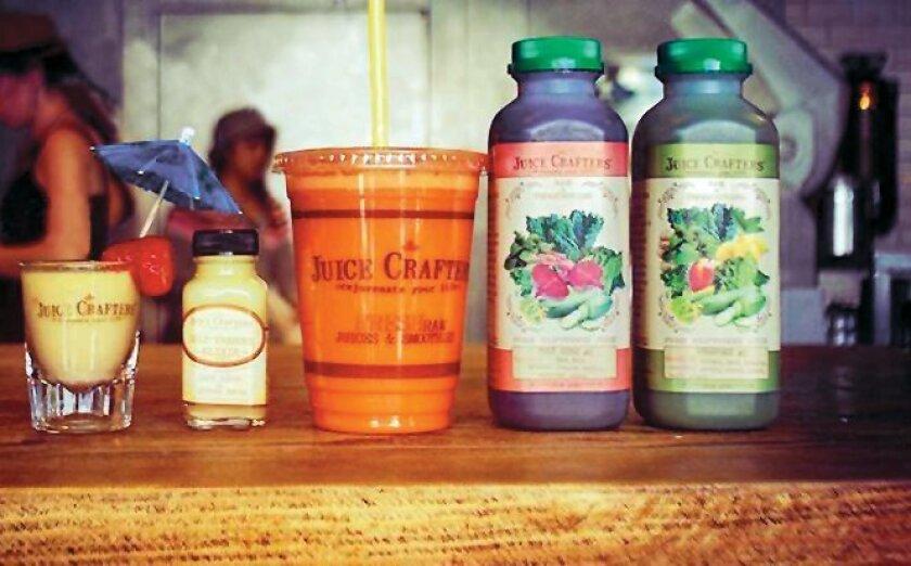 Juice Crafters' La Jolla location is located at 935 Silverado St.