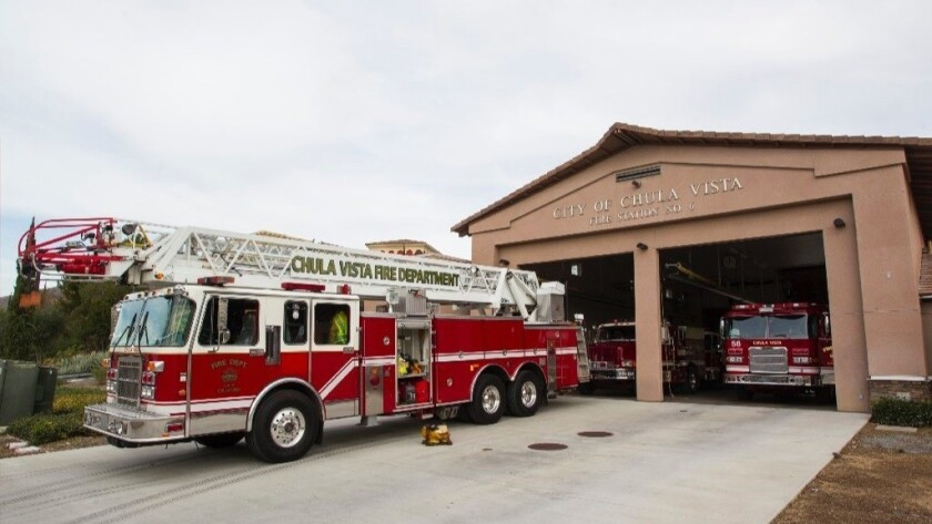 City of Chula Vista Fire Station No. 6 in Eastlake.