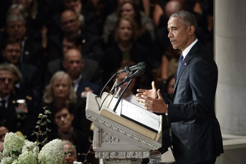 El expresidente de Estados Unidos Barack Obama. EFE/Archivo