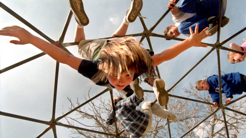 They may look like they're goofing off, but experts say exercise boosts kids' brains as well as their bodies.