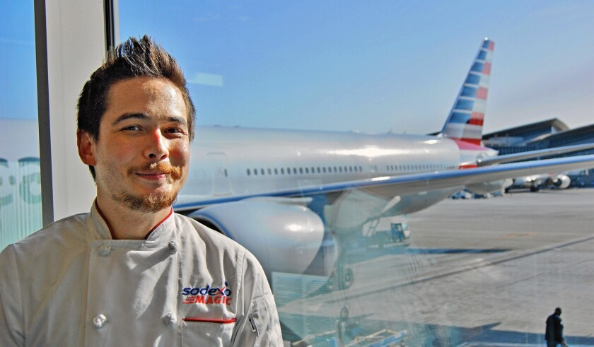 American Airlines' LAX chef