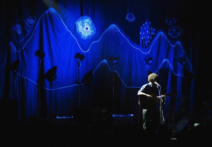 Swedish-born soft-indie-rock artist Jose Gonzalez plays the first of two sold out shows at the Regent Thursday, April 30, 2015.