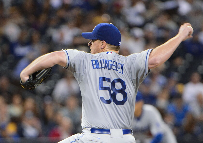Chad Billingsley's comeback finally leads to Tommy John surgery