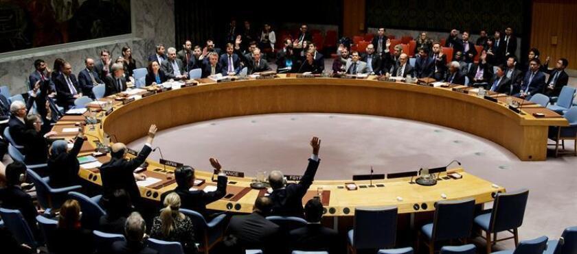 El Consejo de Seguridad de Naciones Unidas aplaudió hoy el acuerdo alcanzado el pasado sábado por el Gobierno de la República Democrática del Congo (RDC) y la oposición para celebrar elecciones a finales de 2017, que podría acabar con la crisis política del país. EFE/ARCHIVO