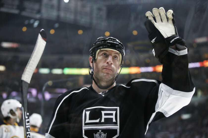 Rob Scuderi helps Kings take down the Sabres, 2-0, in his first game back with L.A.