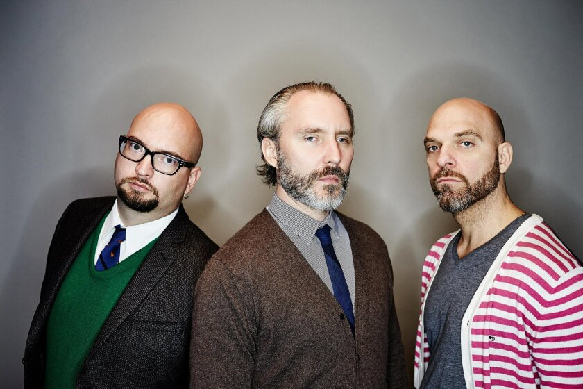 The Bad Plus: pianist Ethan Iverson, bassist Reid Anderson and drummer David King. Courtesy photo