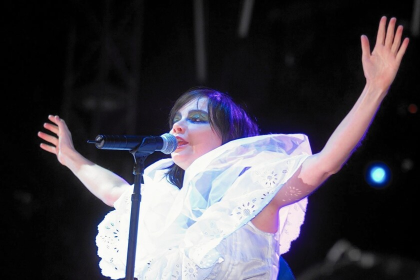 Bjork is the only female-centric act to have headlined the Coachella festival, and that was years ago.