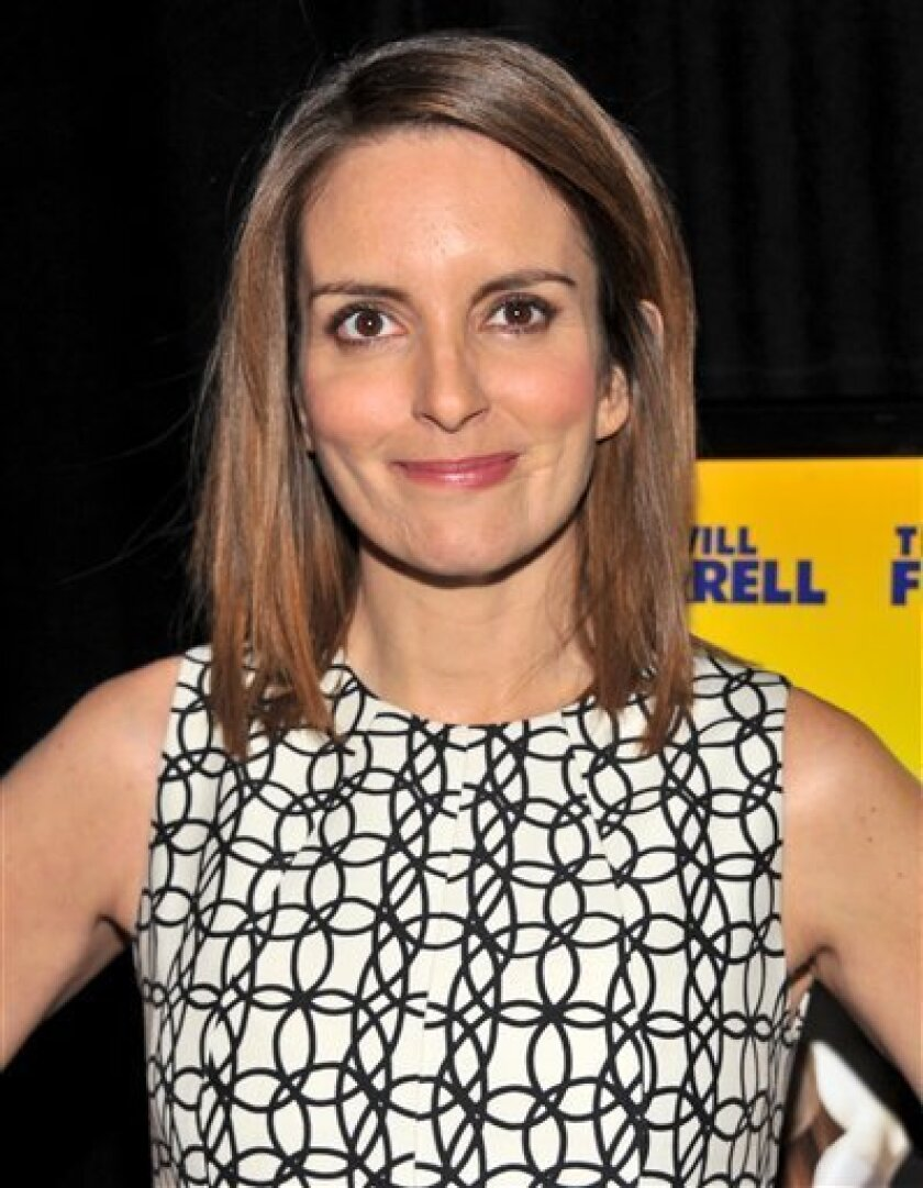 Actress Tina Fey attends the 'Megamind' film premiere at on Wednesday, Nov. 3, 2010 in New York. (AP Photo/Evan Agostini)