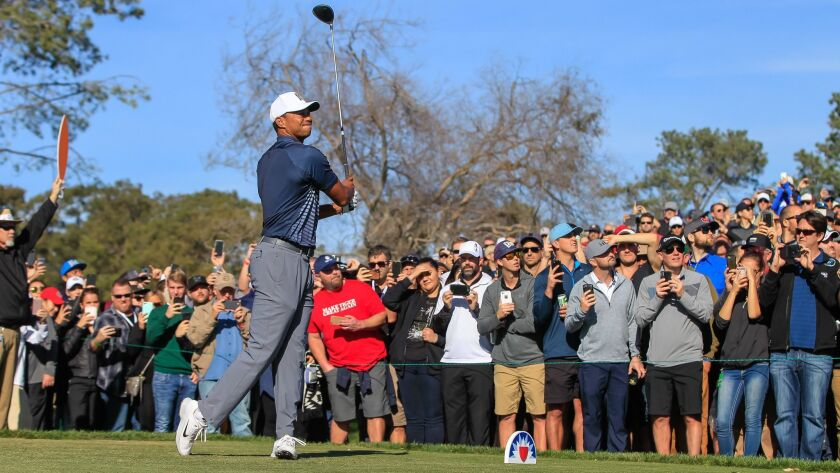 Crowds are expected to be large again this week when Tiger Woods returns to Torrey Pines for the Farmers Insurance Open, which begins Thursday.