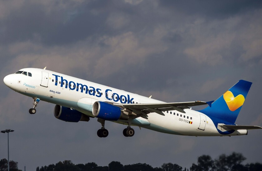 Thomas Cook airliner