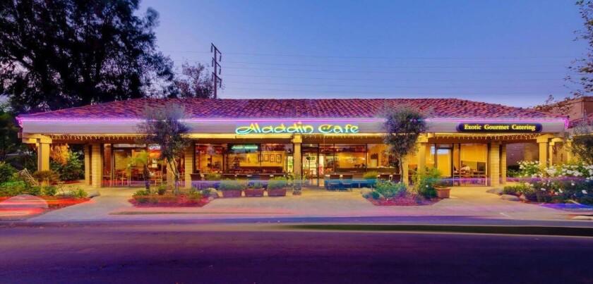 Aladdin restaurant in Clairemont Mesa