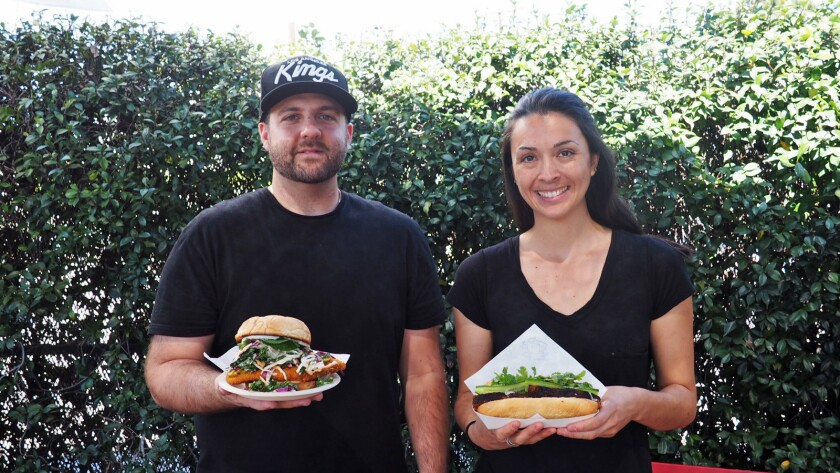 Armen Piskoulian and Casey Felton are behind Banh Oui, a banh mi pop-up in Silver Lake and downtown.