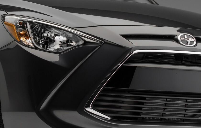 Toyota sneak-peeks the iA.