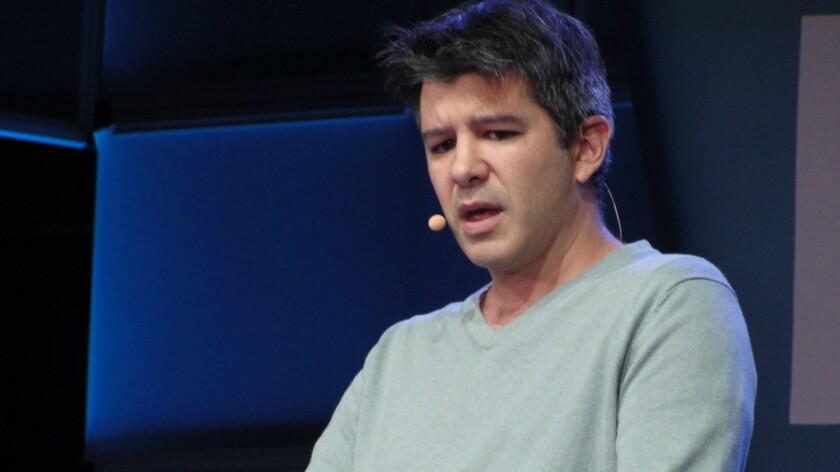 The $70-billion man? Uber CEO Travis Kalanick