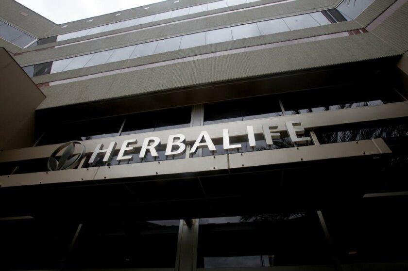 Herbalife shares