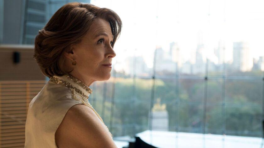 "Sigourney Weaver in ""Marvel's The Defenders."""