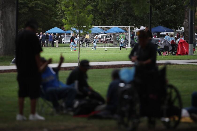 Pioneer Park in Salt Lake City