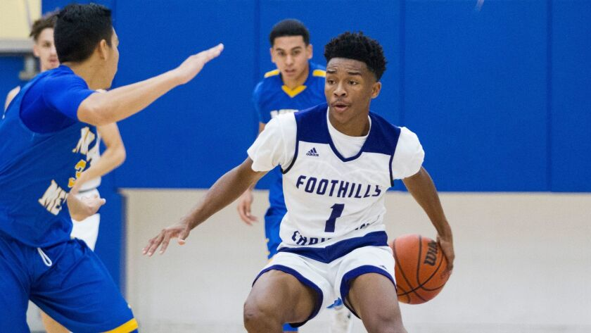 Foothills Christian's Jaylen Hands will play for the West squad in the McDonald's All-American Game on March 29.