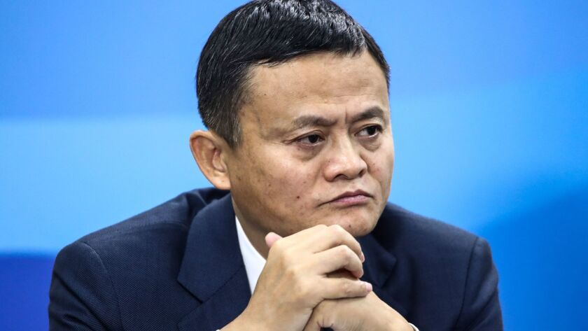 Jack Ma had pledged to create a million U.S. jobs by enabling small U.S. businesses to reach more Chinese customers, not by employing Americans directly.