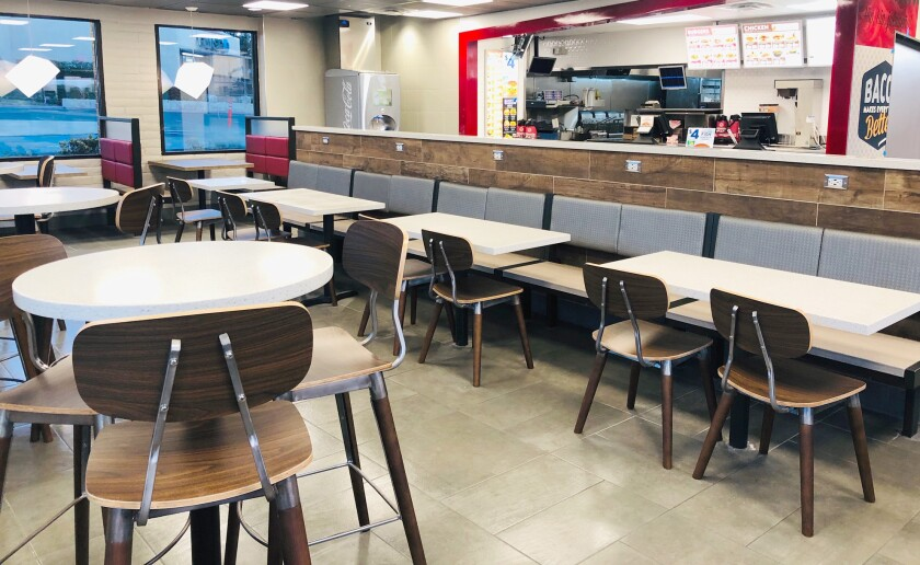 The proposed Jack in the Box redesign will feature traditional elements customized to Ramona.