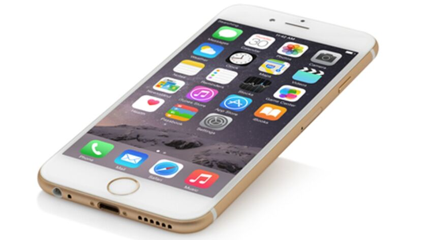 IPhone 6 (Dreamstime/TNS) ** OUTS - ELSENT, FPG, TCN - OUTS **