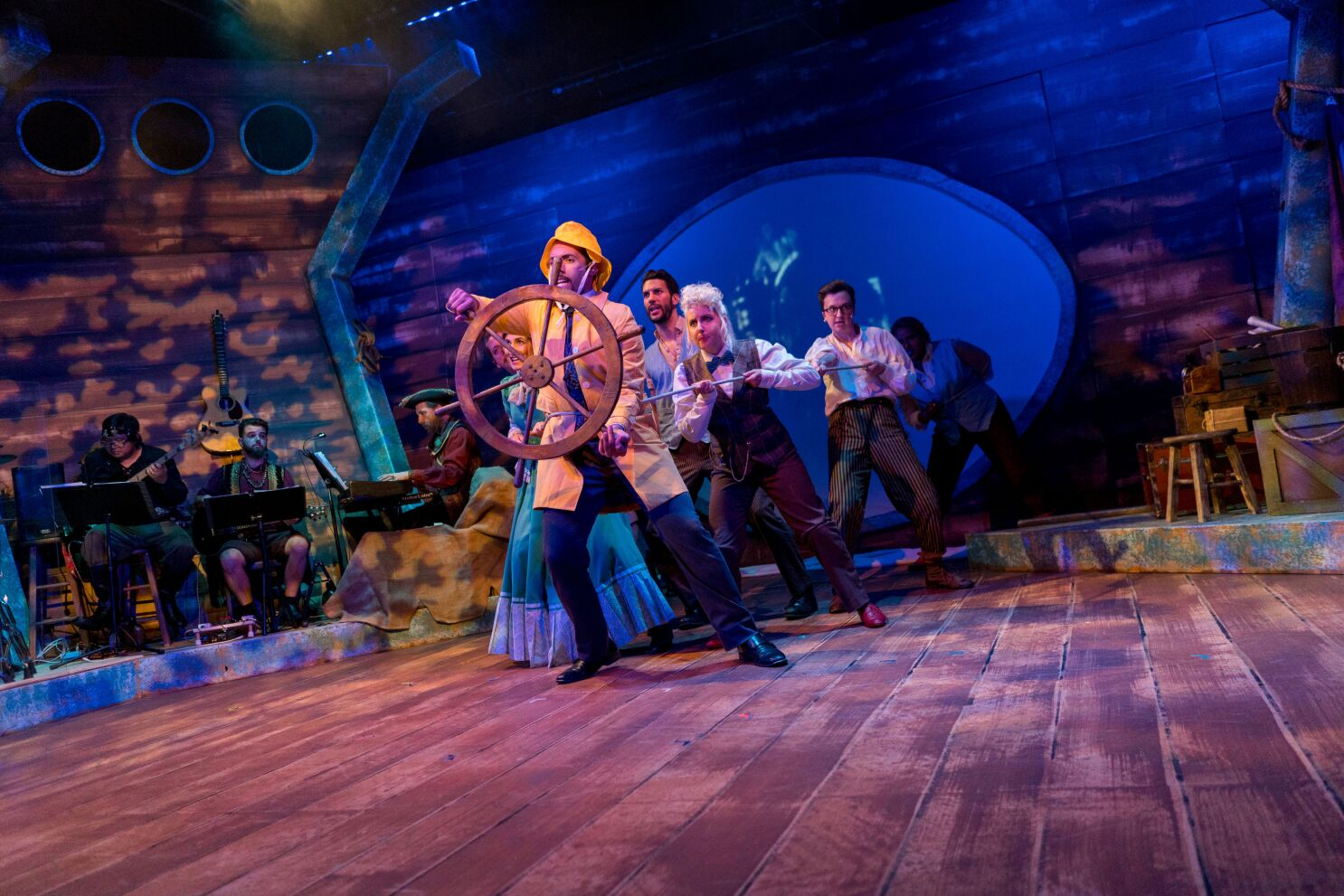 Review: New Village's 'Around the World' a swashbuckling adventure