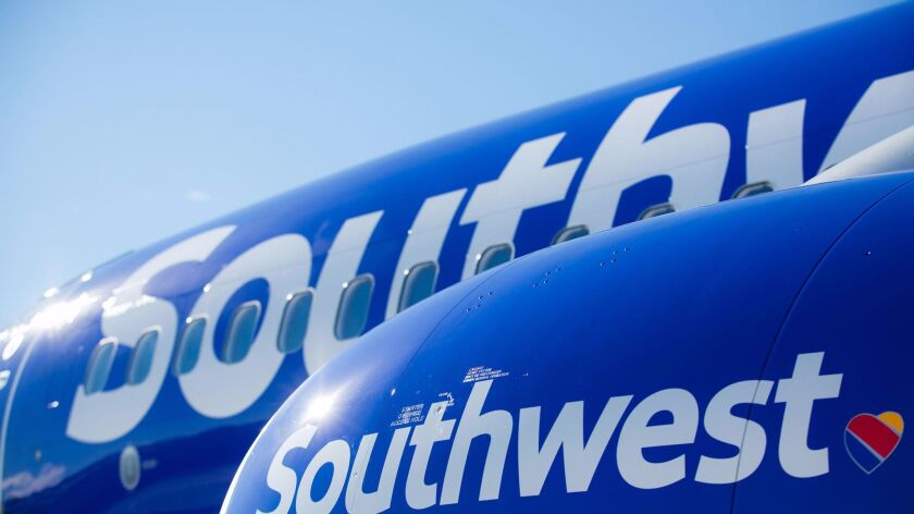 Southwest Airlines is getting a new look to mark its expansion. The Dallas-based carrier is completi