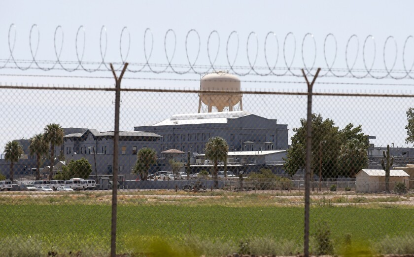 The state prison complex in Florence, Ariz. where the execution of Joseph Rudolph Wood III took place on July 23.