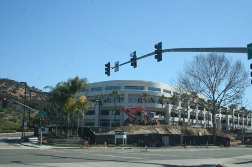 Construction is underway on 40,0000 square feet of office buildings at Torrey Reserve.