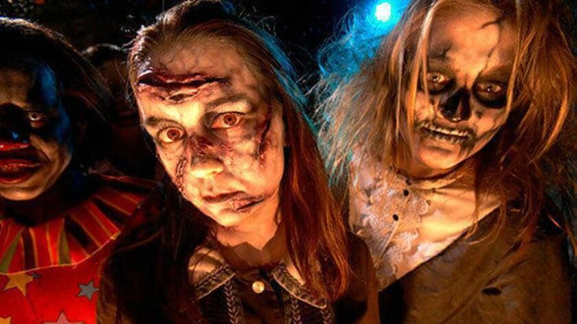 Fright Fest 2015 at Six Flags Magic Mountain runs on select Friday, Saturday and Sunday nights from Sept. 26 through Nov. 1.