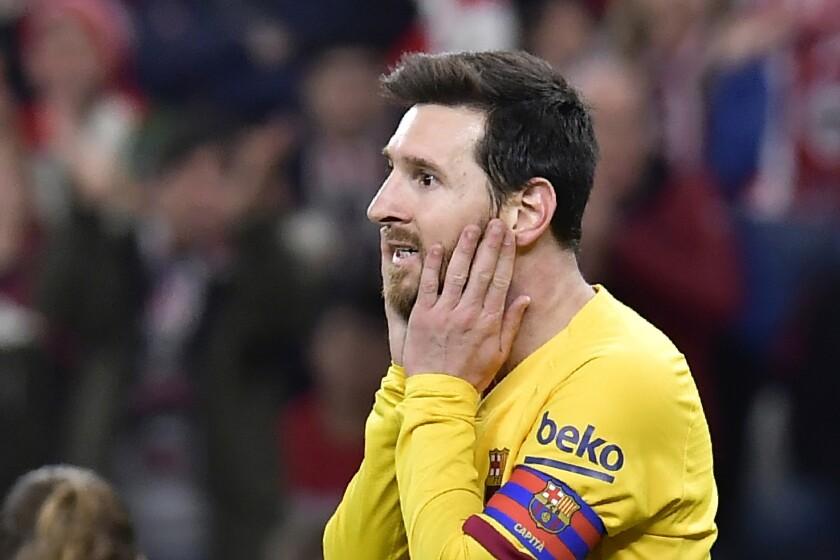 ARCHIVO - el atacante argentino Lionel Messi