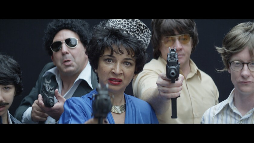 """Actress Maya Rudolph appeared on Comedy Central's """"Drunk History"""" as """"the godmother of cocaine,"""" Griselda Blanco, in an episode that aired Sept. 8, 2015."""