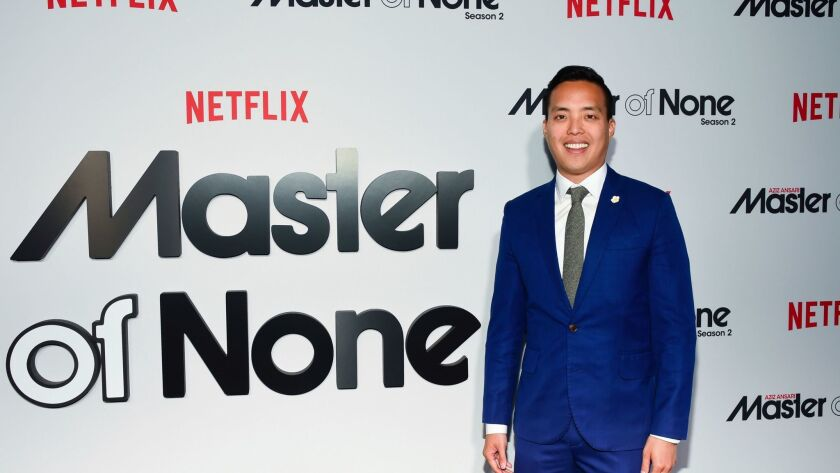 """Co-creator, and executive producer Alan Yang attends Netflix's """"Master of None"""" season two premiere"""