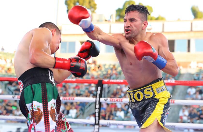 Ronnie Ríos vs. Diego de la Hoya