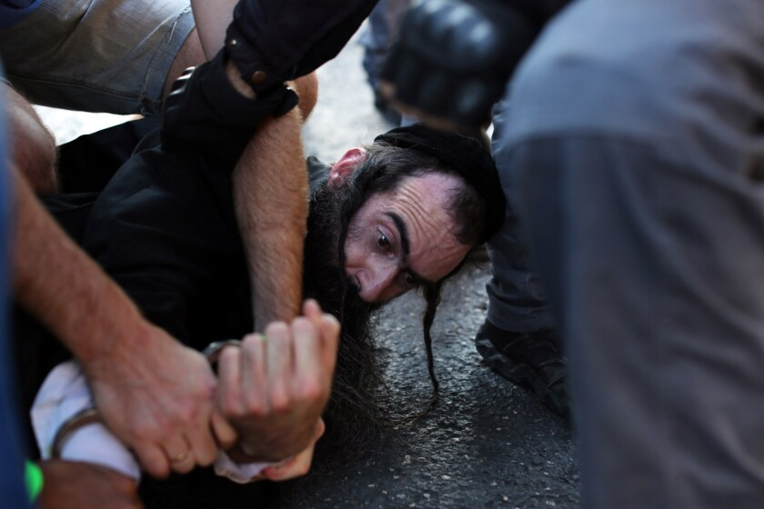 Attack on Gay Pride parade in Jerusalem