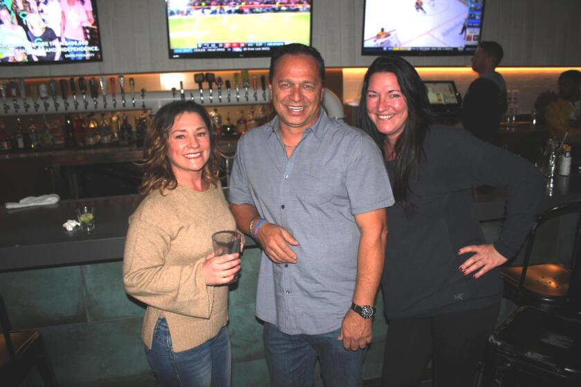 PB40 admins Dennie Whiteside, Marvin Robbins and Kerri Reynolds pull off yet another successful gathering at Mavericks Beach Club for Taco Tuesdays.