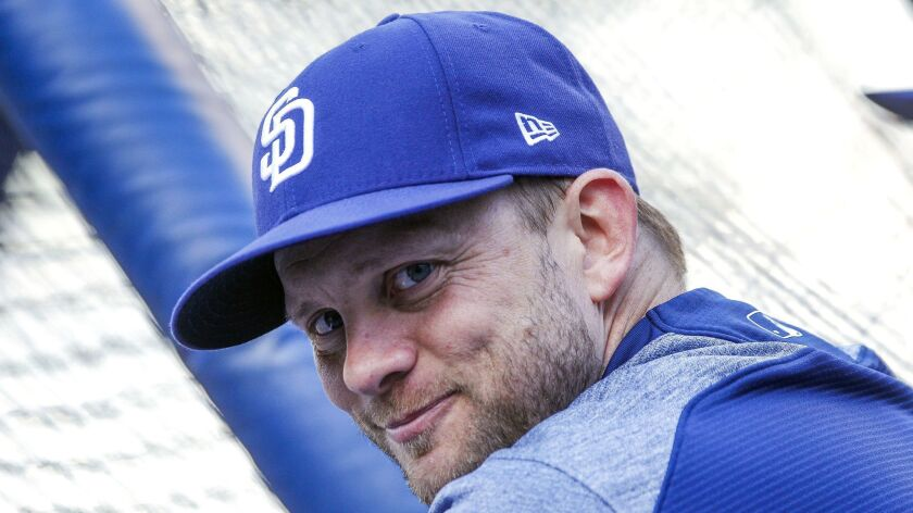 Padres manager Andy Green.