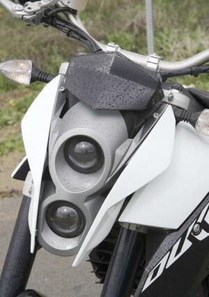 2008 KTM Duke headlights