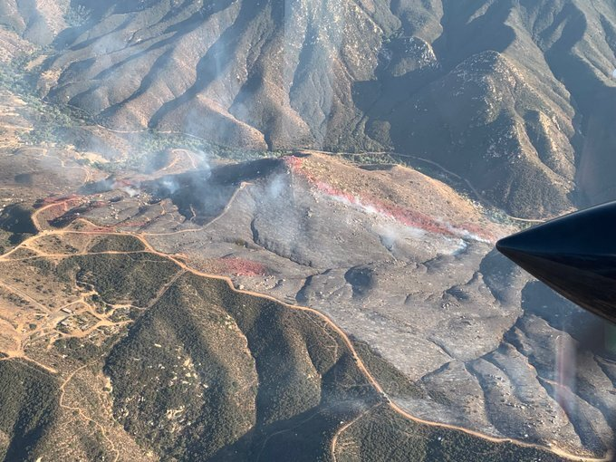 Dehesa fire that charred 200 acres now 75 percent contained