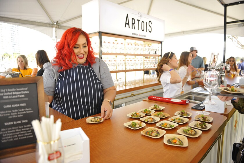A photo of San Diego Bay Wine + Food Festival Grand Tasting Finale