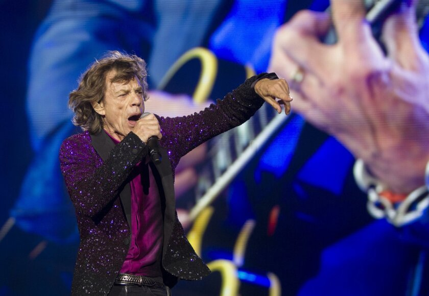 The Rolling Stones begin their US Tour Sunday night at Petco Park downtown. Mick Jagger, The Rolling Stones frontman and lead singer rocks Petco Park.