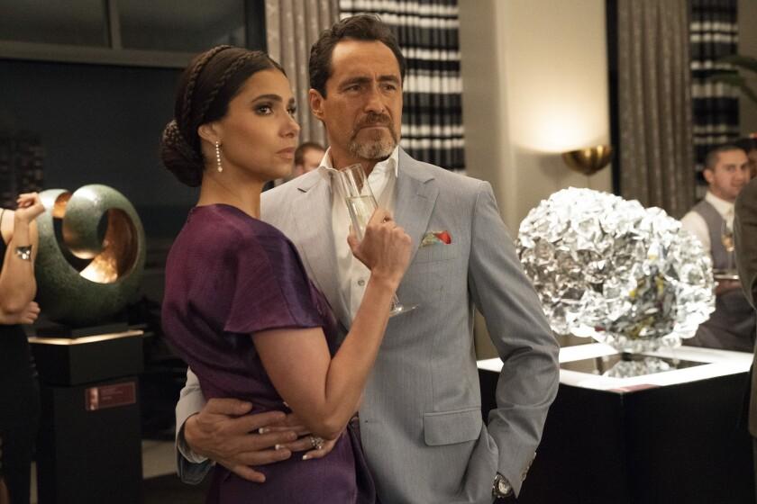 "Roselyn Sánchez, Demián Bichir in ""Grand Hotel"" on ABC."