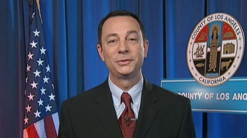 Mark J. Saladino served as county counsel for less than a year before being asked to resign in 2015.