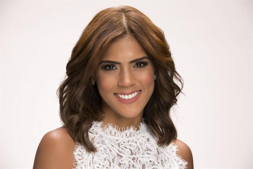 Fotografía promocional cedida por la cadena Univisión hoy, miércoles 7 de marzo de 2018, donde aparece la presentadora y actriz de origen dominicano Francisca Lachapel. EFE/Univision/SOLO USO EDITORIAL/NO VENTAS