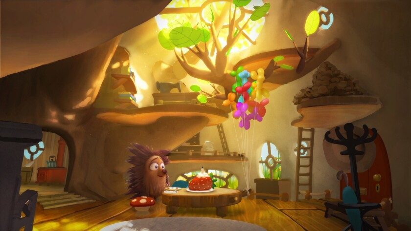 """A shot from Oculus Story Studio's """"Henry."""""""